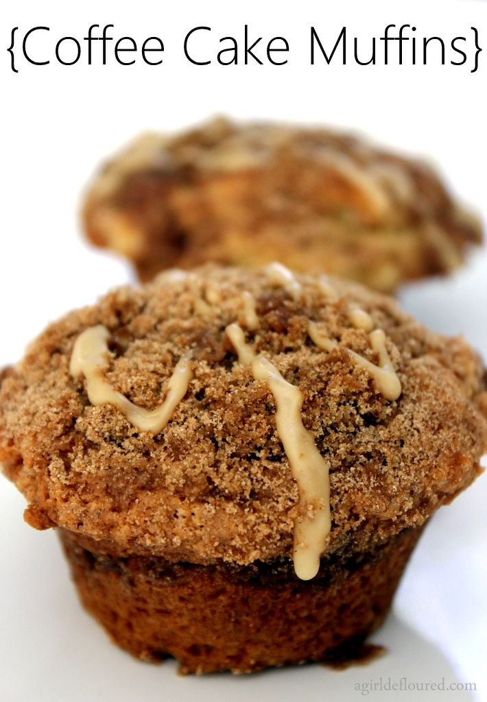 Coffee Cake Muffins Vegan