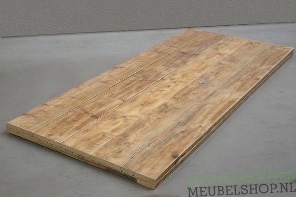 Steigerhouten tafelblad op maat