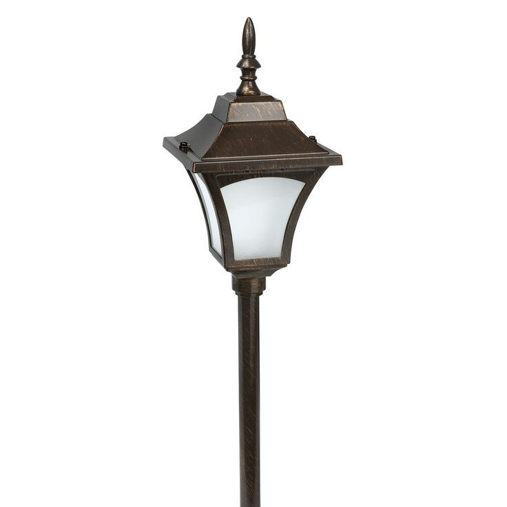 31 best outdoor lighting images on pinterest exterior lighting paradise garden lighting gl33837rb led pathway light rubbed bronze finish atg stores aloadofball Image collections