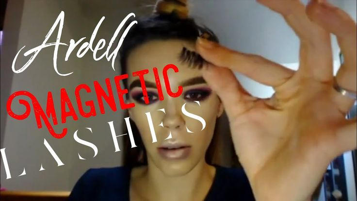 NEW ARDELL MAGNETIC LASHES   FIRST 2018 MAKEUP TUTORIAL / GET READY WITH...