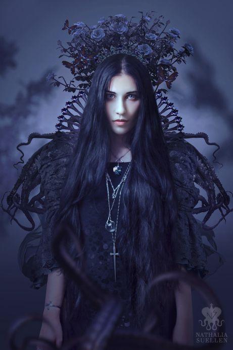 Violetta self portrait by Nathalia Suellen