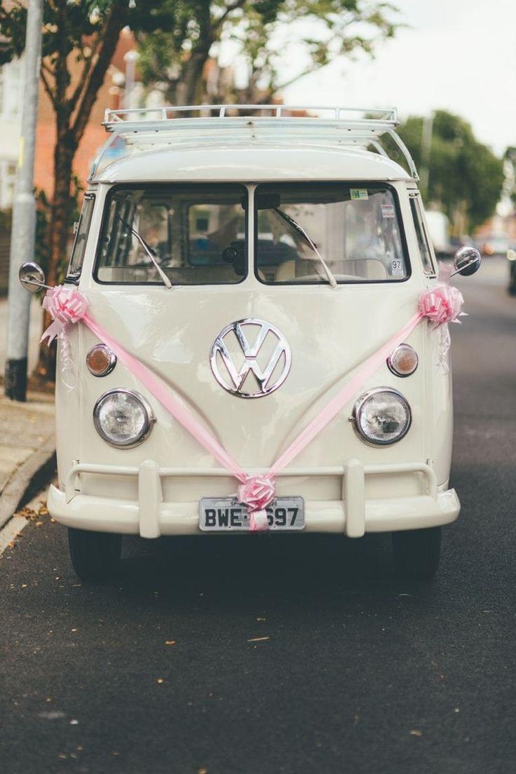 VW Camper Van Boho Beer Festival Wedding http://www.emilysteve.com/