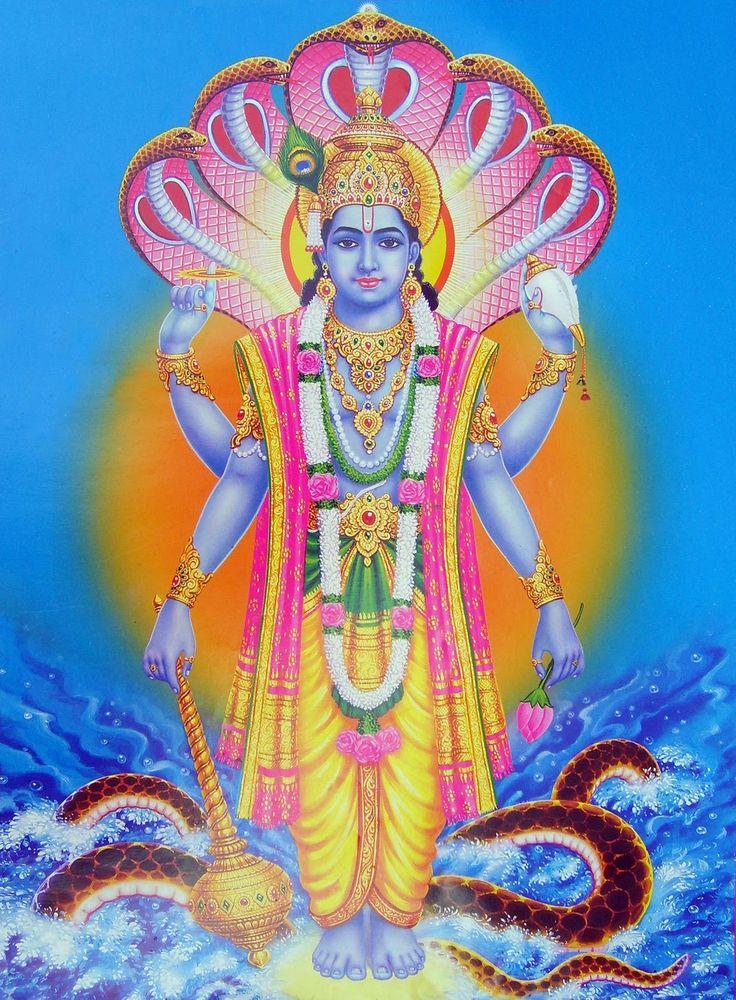 60 best ○Vishnu images on Pinterest   Lord vishnu, Hindu deities ...