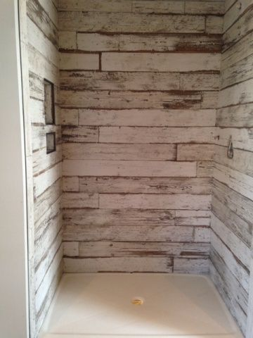 Remodel Bathroom Shower Tile best 25+ wood tile shower ideas only on pinterest | large style