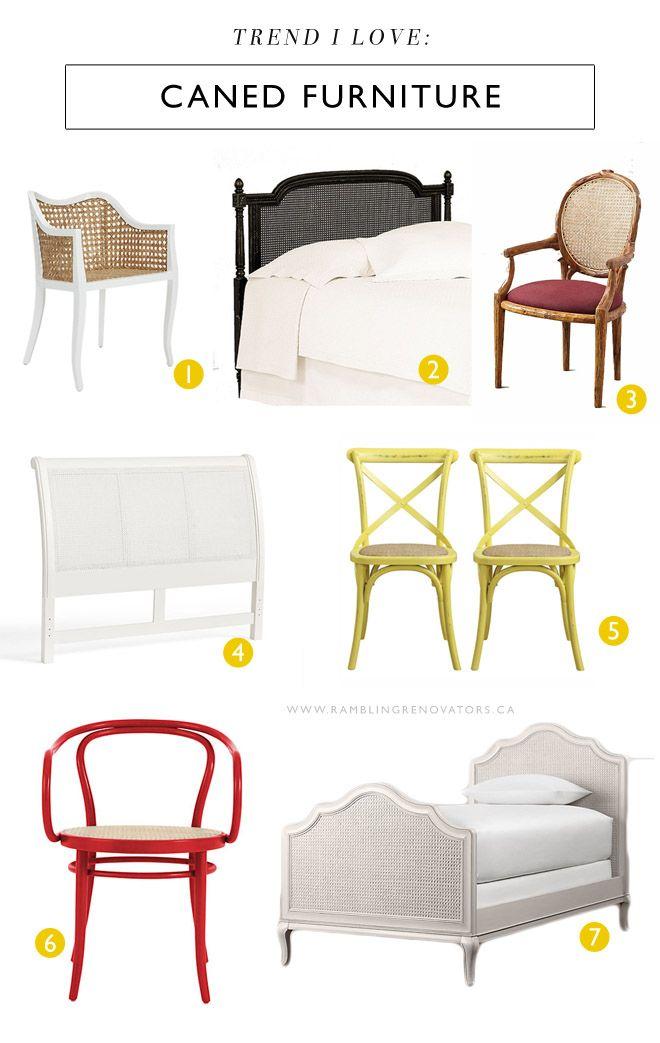 Caned furniture ramblingrenovators.ca