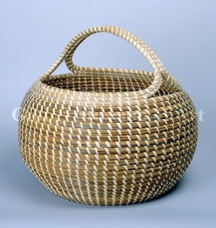 Sweetgrass baskets made in Charleston, SC. So many styles.