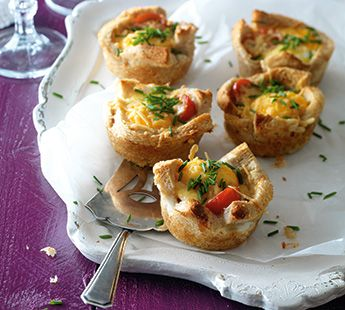 Hartige broodmuffins met oude kaas - Recept - Jumbo Supermarkten
