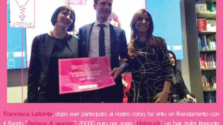 """WIP4WOMEN: l'unico progetto Perlana4women approvato in Italia è nostro! I primi risultati del Coffice di Galatone con il modello """"Set up your project"""""""