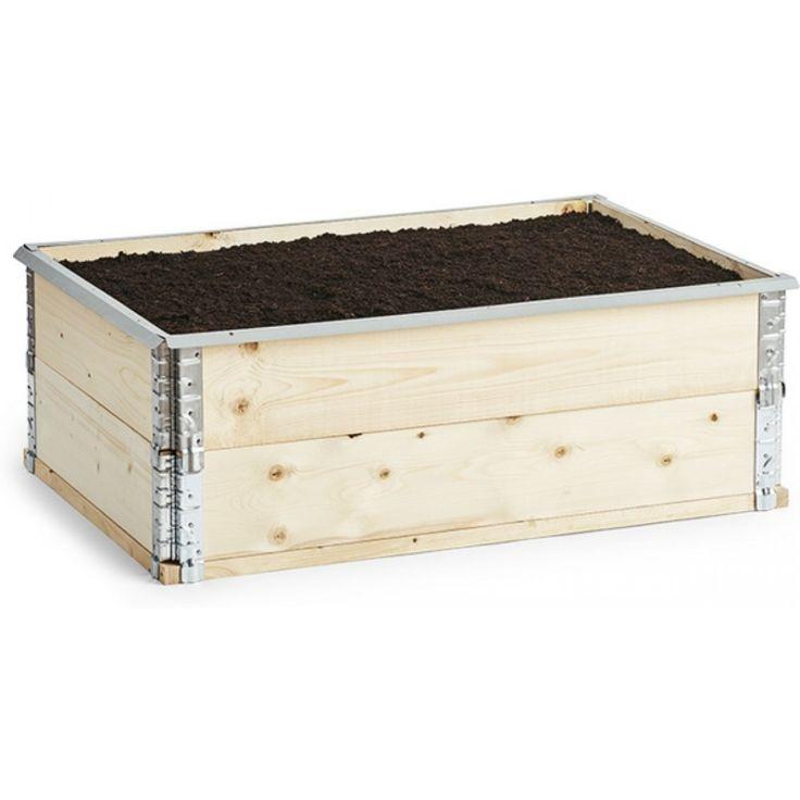 Sneglestopper til plantekasse