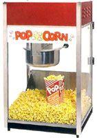 popcorn machine rental from hornungs $30 per day