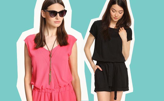 Modny kombinezon na lato - trend