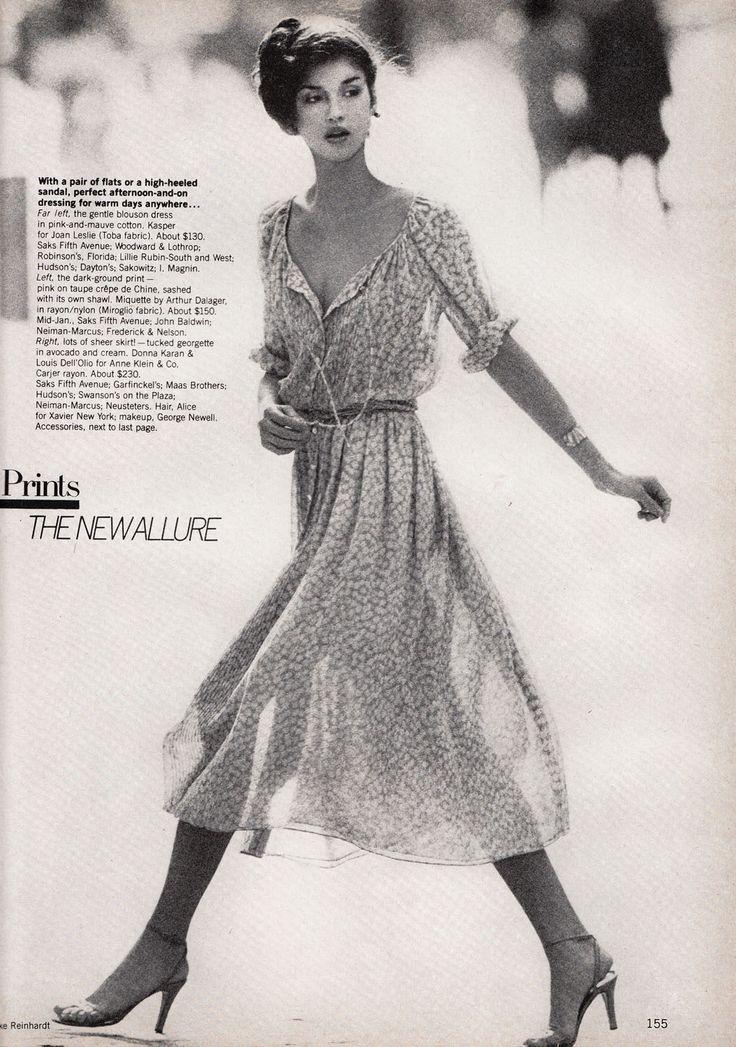Donna Karan and Louis Dell'Olio for Anne Klein ...