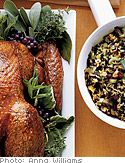 Organic Turkey Stuffed with Brown and Wild Rice, Dried Cranberries and Walnuts - Oprah.com