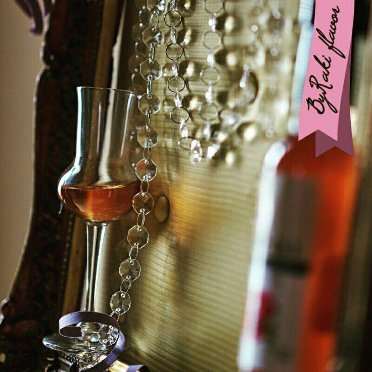 #ΜΠΑΪΡΑΚΙ #ByRaki_flavor #alcohol #beverage #madeinGreece #madefromgrapes #greekmark  #Glass