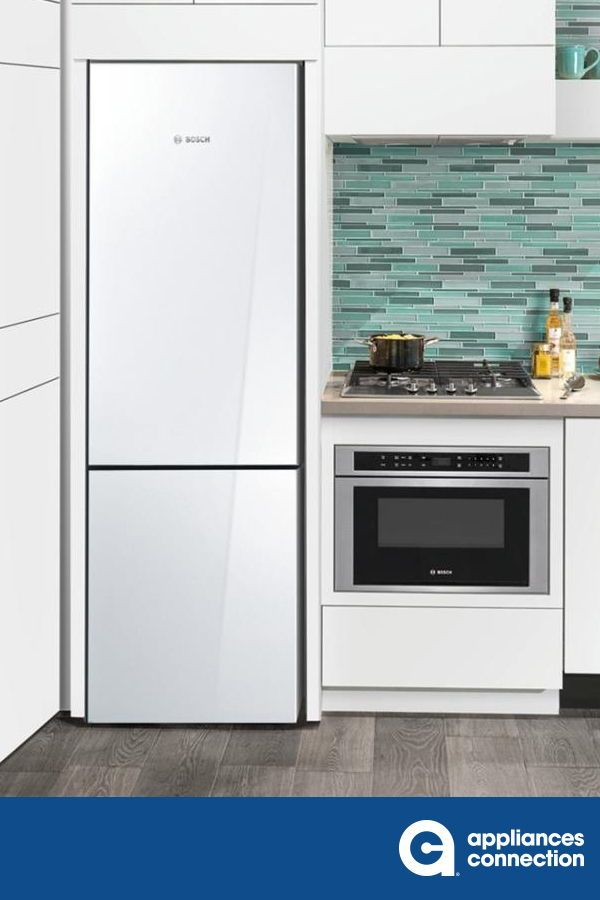 800 Series 24 Inch Counter Depth Freestanding Refrigerator With 10 Cu Ft Total Capaci In 2020 White Interior Design Inspiration Home Appliances White Interior Design