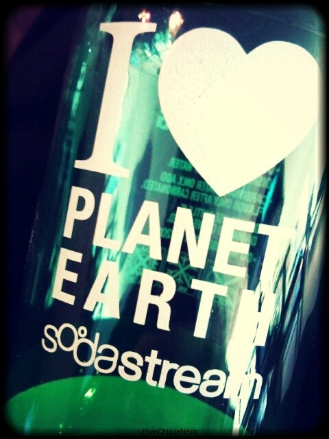 Go green & buy a SodaStream....check out my latest blog on a healthy alternative to soda!