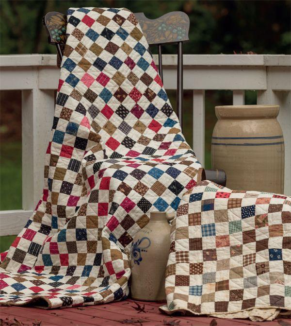 Ninepatch Road quilt, JJ Stitches, Sun Prairie, Wisconsin