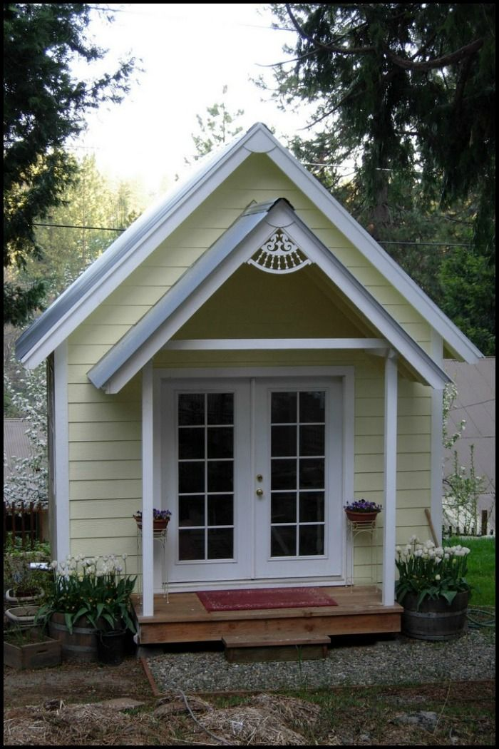 87 best Sheds images on Pinterest Sheds Easy diy projects and
