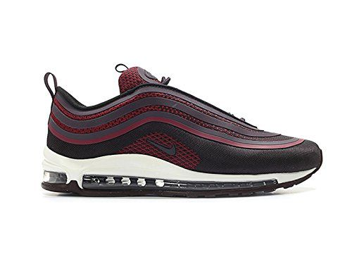 huge discount 2c2f0 bf0aa NIKE Air Max 97 Ultra 2017 Lifestyle Fashion Sneakers Noble Red/Port Wine  New 918356