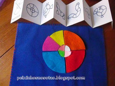 Cirkel tangram voorbeeld
