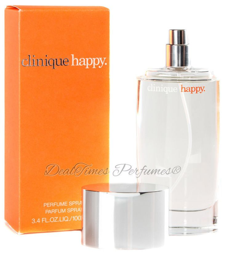 Clinique Happy Perfume Spray 3.3 / 3.4 Oz Women EDP NEW IN BOX  | eBay