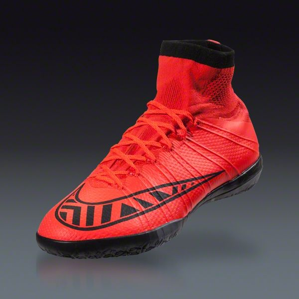2fbff1918 Nike Mercurial Superfly X IC - Bright Crimson Indoor Soccer Shoes | SOCCER.COM  |