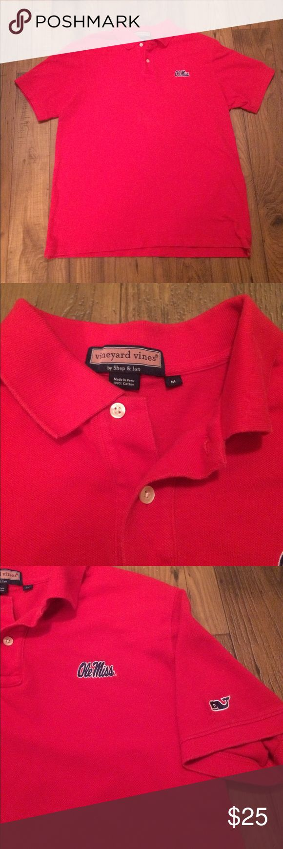 Vineyard Vines Ole Miss game day polo Vineyard vines game day polo Ole Miss Vineyard Vines Shirts Polos