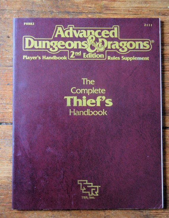 1989 Advanced Dungeons and Dragons Complete by RubbersuitStudios, $8.95