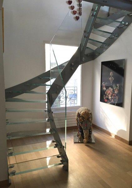 7 best Escalier limons latéraux Elite   Elite lateral beams stairs - escalier interieur de villa
