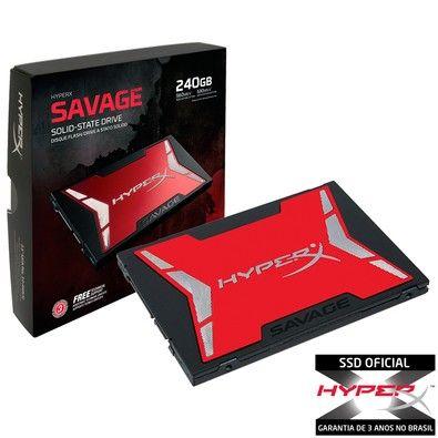 SSD Kingston HyperX Savage 2 - R$ 599,90