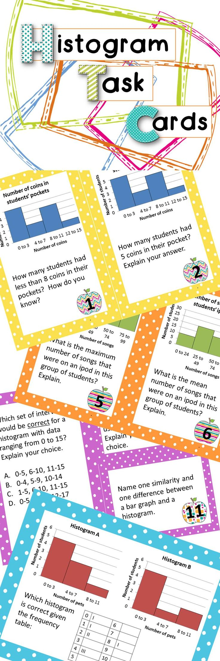 62 Best Images About 6th Math Statistics On Pinterest
