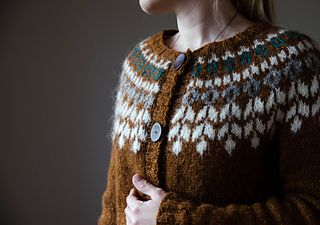 After seeing Katrins and Fraukes beautiful Birkis I needed one for myself. This has been my first steek project and it won't be the last.  Love it and it is sooo comfy.  Added short rows befo...