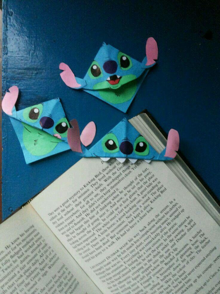 Como Hacer Separadores De Libros Para Ninos