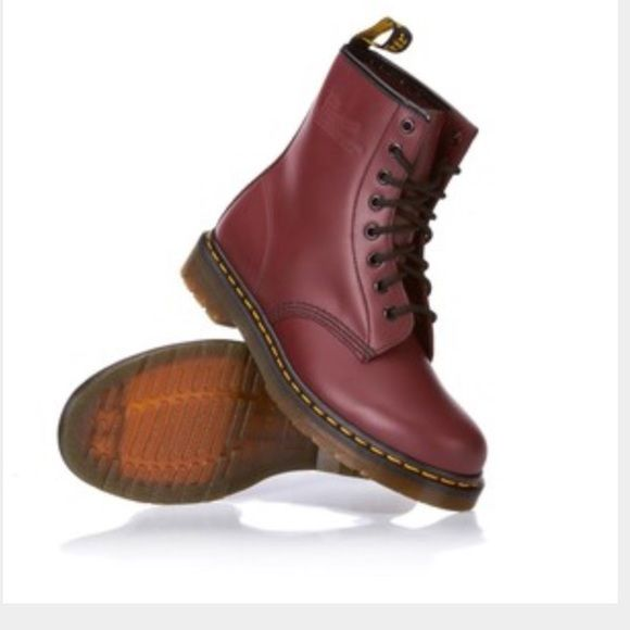 how to wear cherry red doc martens