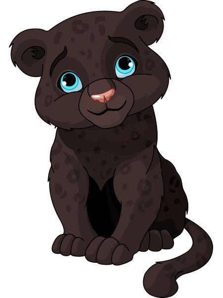 This panther cub is pining to check out Facebook.