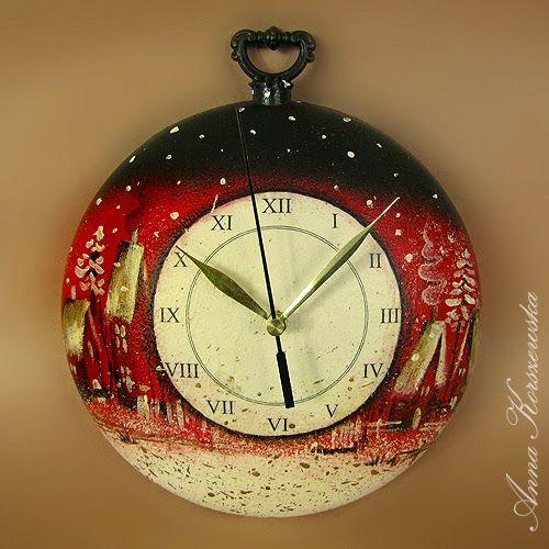 Добро пожаловать в мой мир! Часы Рождество - Рождество орнамент
