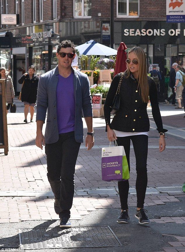 golfer Rory McIlroy and his fiancé Erica Stol have been friends for years while he was dating - and was late...