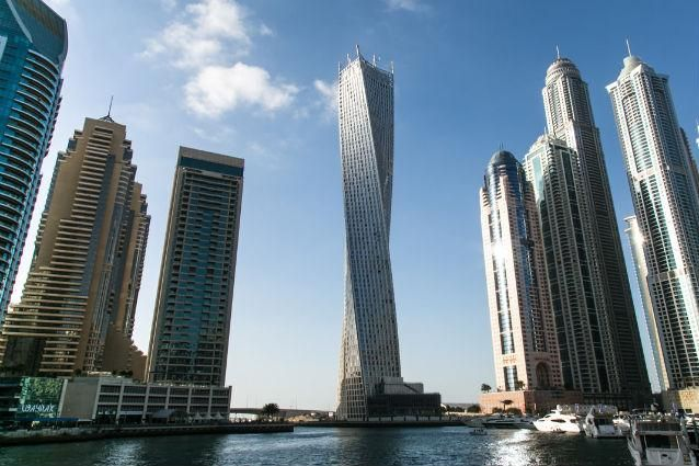 modern building tower in Dubai