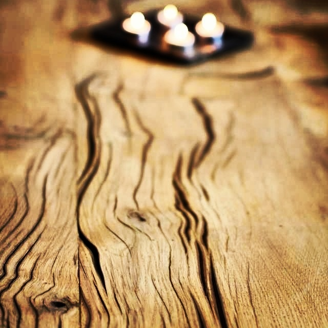 Raw rustic oak