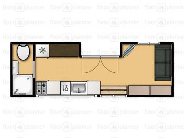 floor plan nate and jens home on wheels living simply and free in a tiny house stunning tiny home