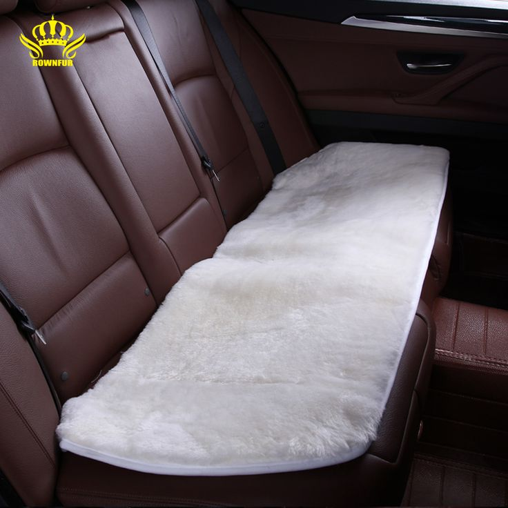 Car interior accessories Car seat covers sheepskin fur cute cushion styling  car-covers 5 color  FOR BACK SEAT 2015 NEW  HTC001
