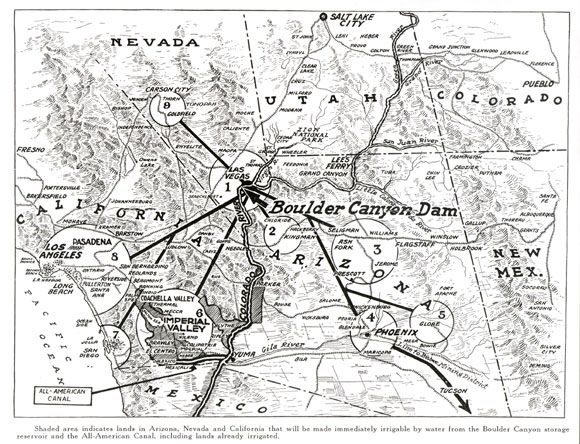 map of all american canal imperial valley ca_coachella valley ca_gila project az_palo herbert hooverpresidential librariesindian