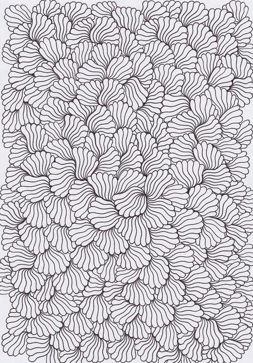 black + white pattern