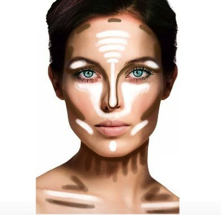 By far one of the greatest things a person can learn- contouring/highlighting can change your whole look!: Face, Contours, Beauty Tips, How To Contour, Make Up, Makeup Tips, Makeuptips, Contouring