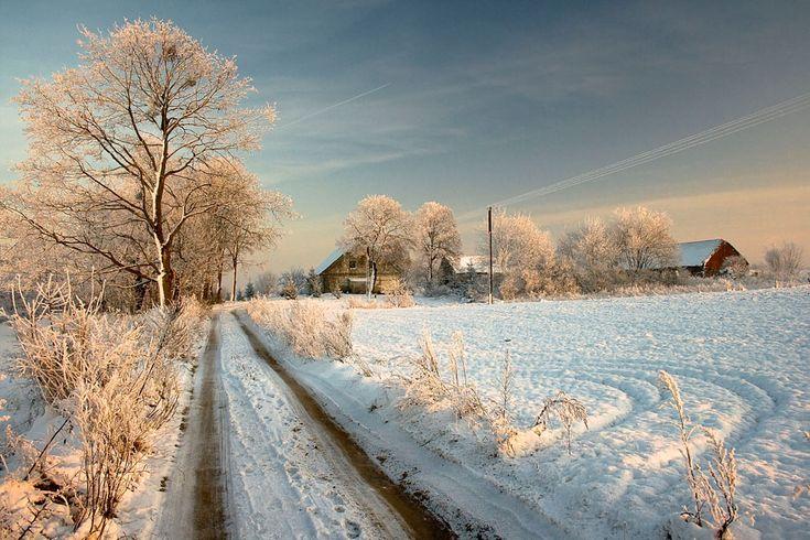 Mazury są piękne również zimą, obejrzyjcie zdjęcia! | oPodróżowaniu