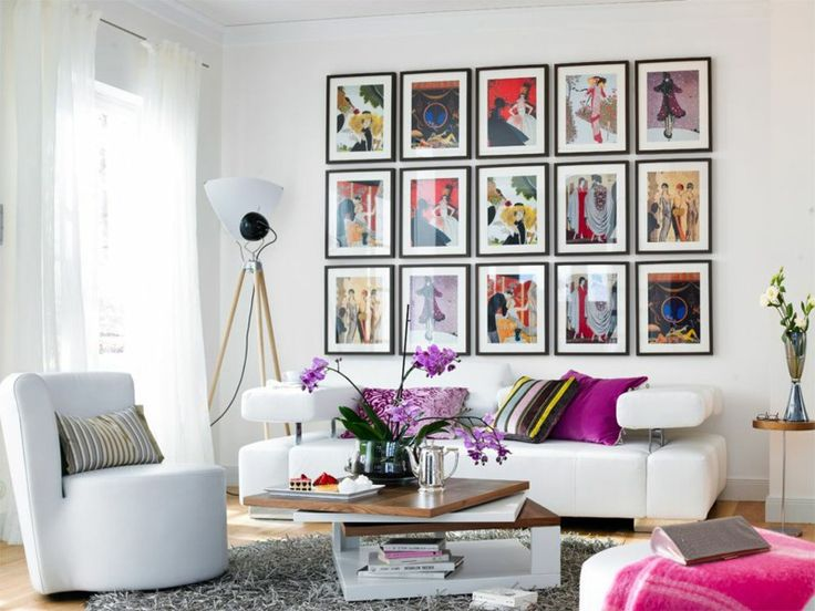 125 best Wanddesign Ideen images on Pinterest Ideas - kreative wandgestaltung