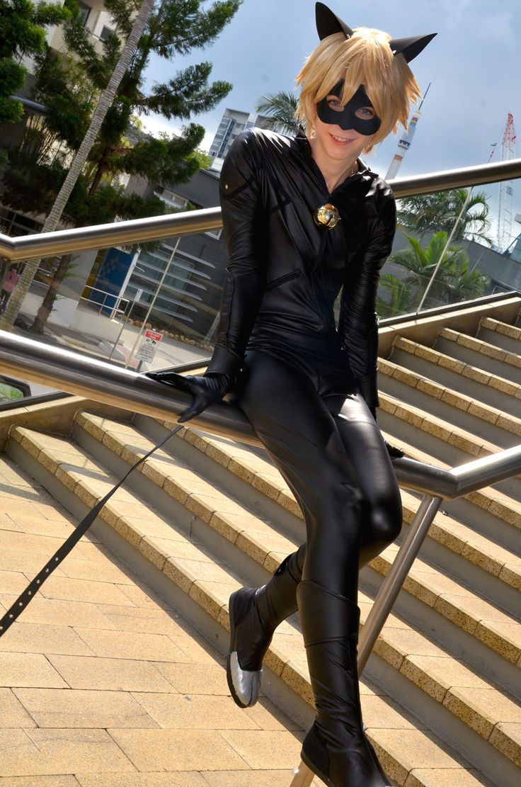 """jequila: """" Chat Noir from """"Miraculous: Tales of Ladybug and Chat Noir"""", cosplayed at Supanova Brisbane 2015, I had so much fun in this cosplay, and I just couldn't believe how many Miraculous fans...(Photo Set)"""