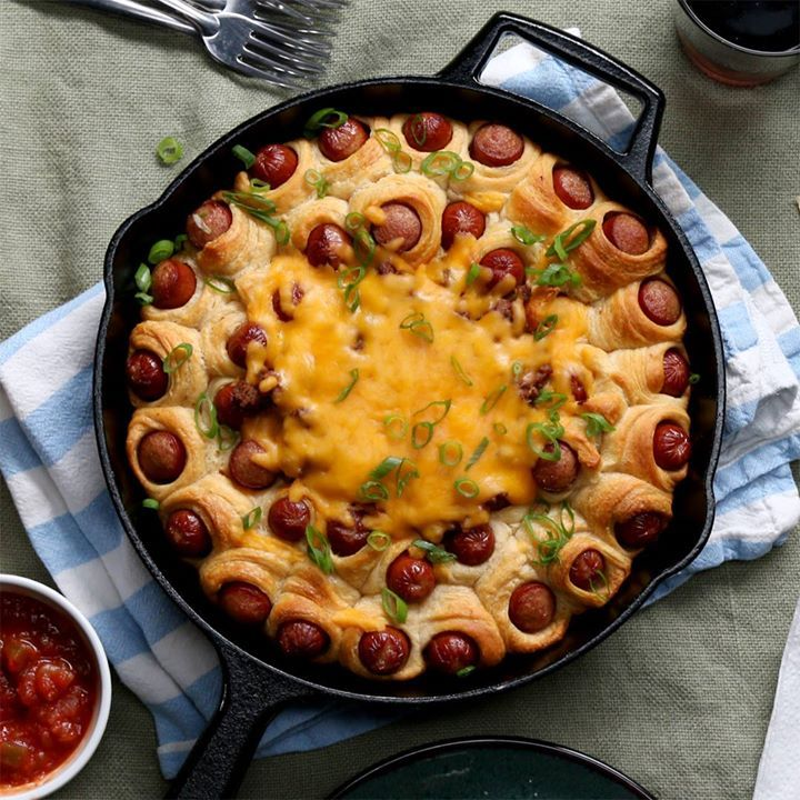 Мини-хот-доги с чили | Вкусные рецепты