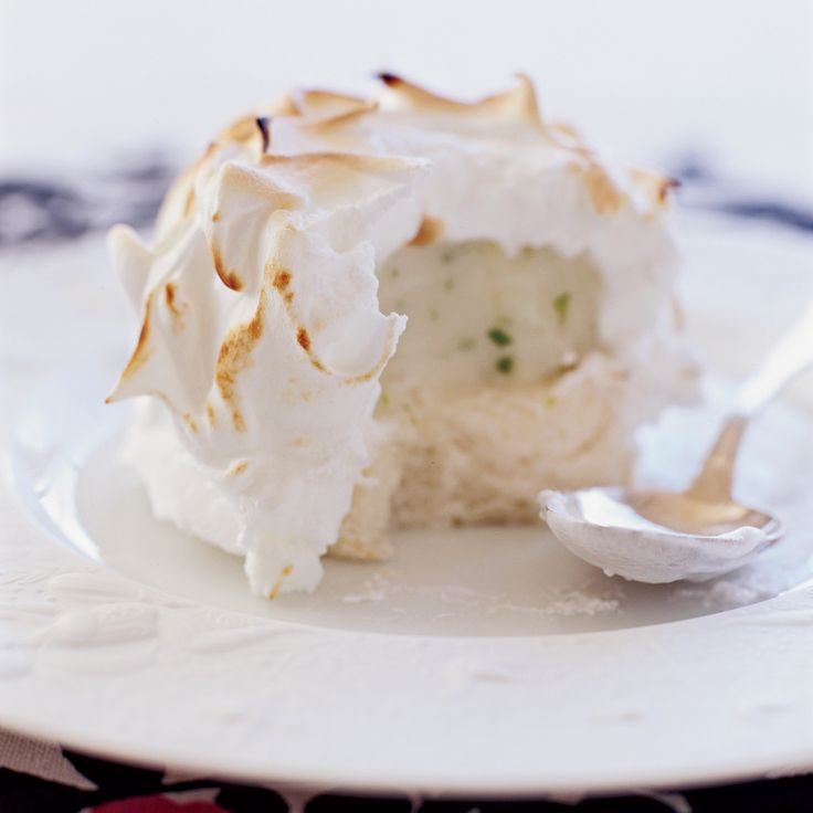 Baked alaska recipe angel food cake