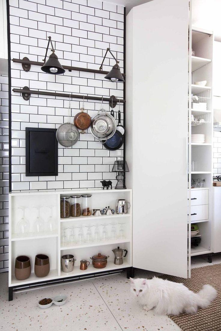 Küçük mutfaklar için büyük fikirler! #mutfak #dekorasyon #modern #tasarım     https://www.homify.com.tr/yeni_fikirler/452615/kuecuek-mutfaklar-icin-bueyuek-fikirler